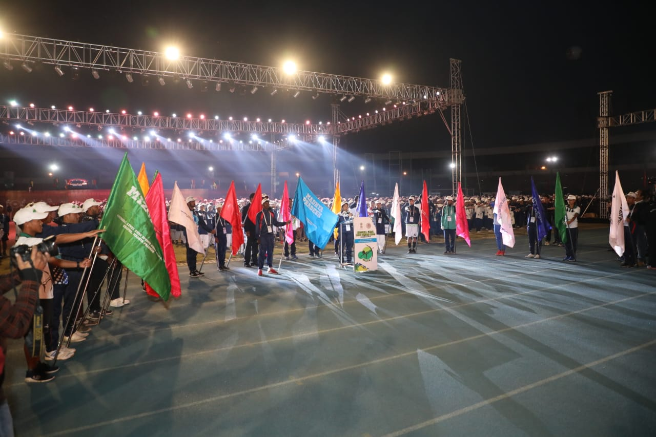 EMRS Sports Meet - Opening Ceremony