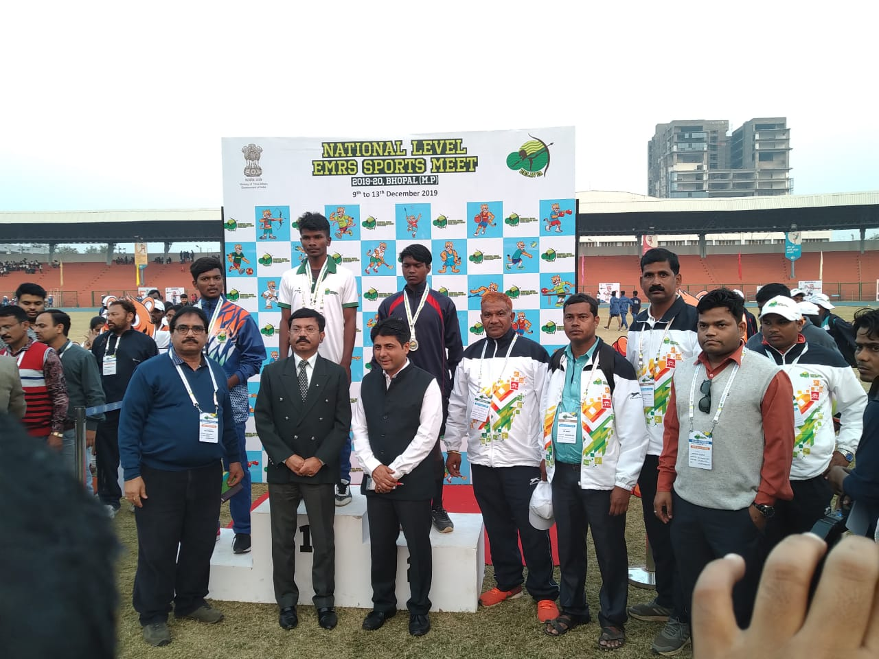 EMRS Sports Meet - Day 3 Medal Ceremony
