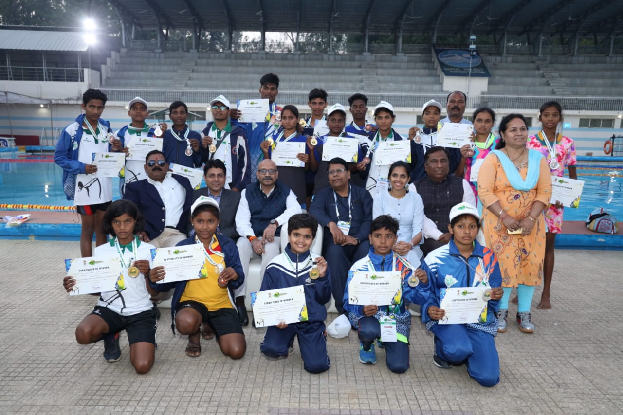 EMRS Sports Meet - Day 2 Medal Ceremony